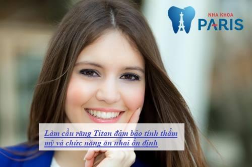 Làm cầu răng sứ titan có tốt không? Có bền không? 2