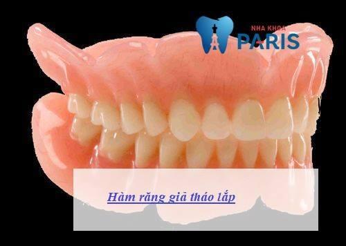 hàm răng giả tháo lắp 1