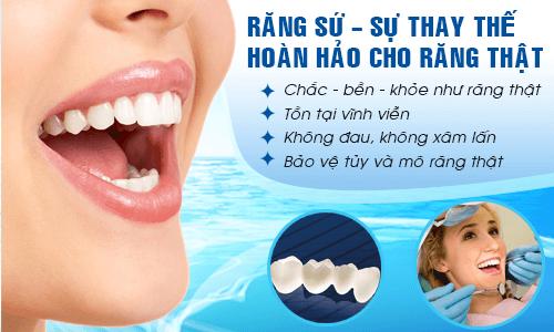 Bọc răng sứ không kim loại cam kết BỀN - ĐẸP gấp 7 LẦN