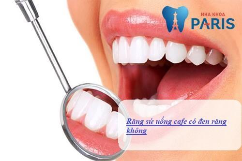Răng sứ uống cafe có đen răng không? Bác sĩ nha khoa giải đáp 1