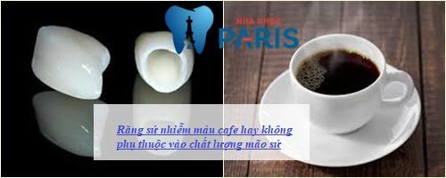 Răng sứ uống cafe có đen răng không? Bác sĩ nha khoa giải đáp 2