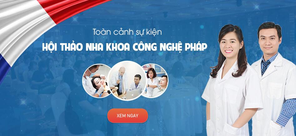 Toàn cảnh sự kiện Hội thảo Nha khoa công nghệ Pháp tại Việt Nam 1