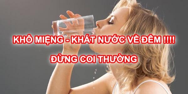 7 Cách chữa Khô miệng hay khát nước về đêm hiệu quả VĨNH VIỄN 1