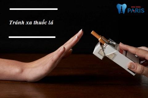 Tránh xa thuốc lá, ngăn ngừa tình trạng răng ố vàng