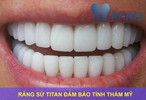 Bọc răng sứ titan - Phục hình răng thưa, mẻ, xỉn màu,... độ bền 20 năm 3
