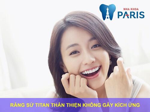 Bọc răng sứ titan - Phục hình răng thưa, mẻ, xỉn màu,... độ bền 20 năm 5