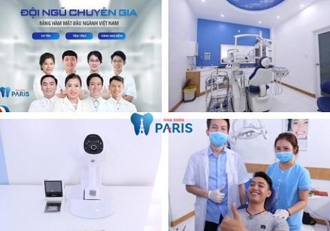 Nha khoa Paris - địa chỉ uy tín, quy tụ đội ngũ bác sĩ mài răng chuẩn tỉ lệ, ngăn ngừa đau đớn