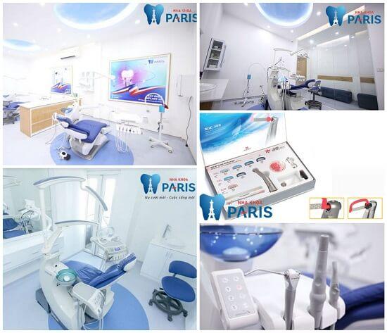 Hệ thống cơ sở vật chất tiêu chuẩn Pháp của Nha Khoa Paris